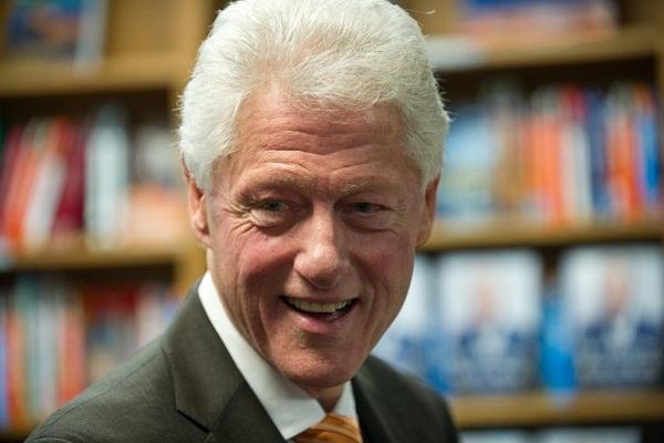 الرئيس الأميركي الأسبق بيل كلينتون