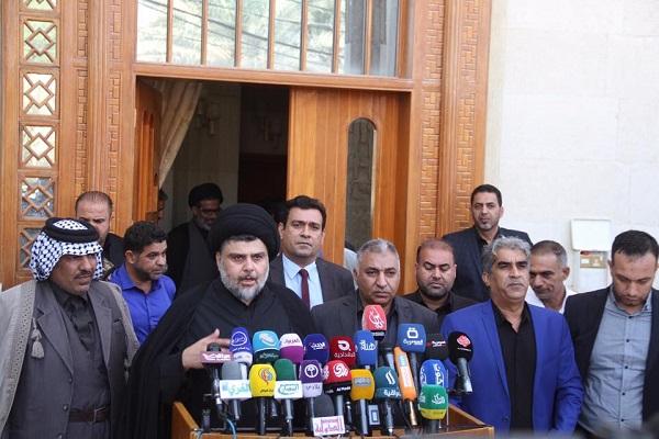 الصدر يتوسط قادة التيار المدني المنظم للاحتجاجات المطالبة بالاصلاح ومواجهة الفساد