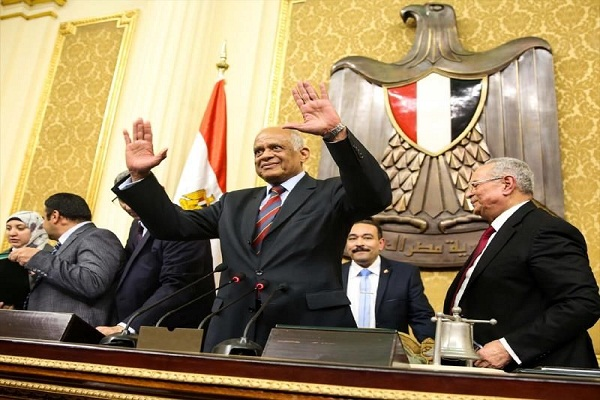 علي عبد العال رئيس البرلمان المصري