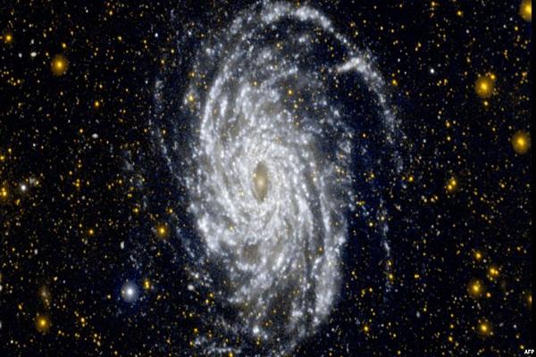 صورة فضائية لمجرة درب التبانة