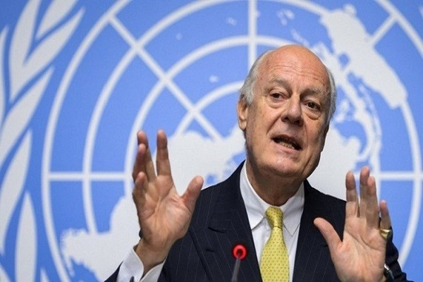 المبعوث الاممي إلى سوريا ستيفان دي ميستورا