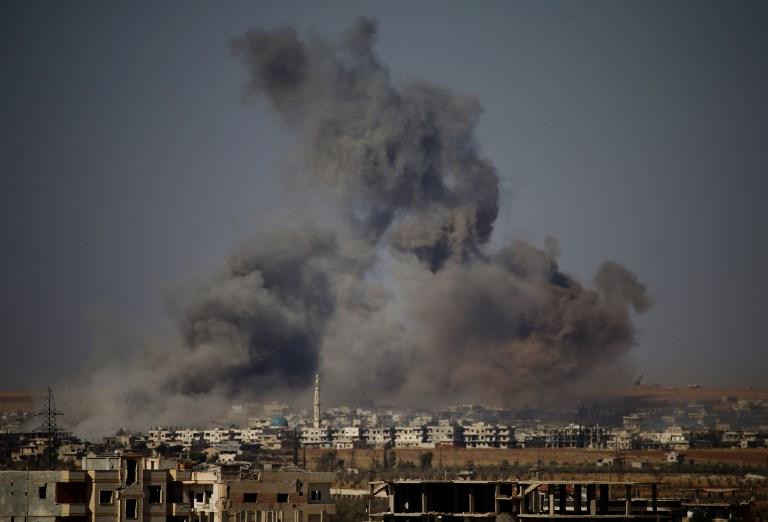دغان يتصاعد في درعا بعد قصف للنظام السوري
