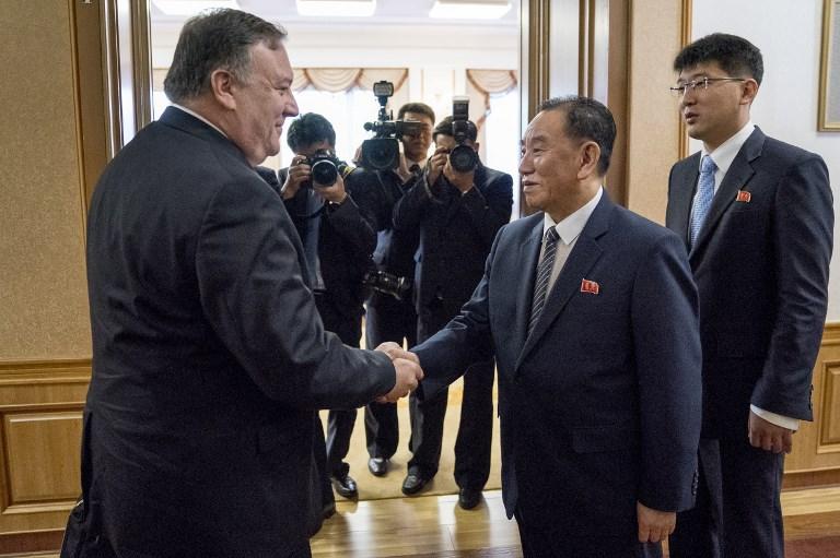 وزير الخارجية الأميركي مايك بومبيو في بيونغ يانغ