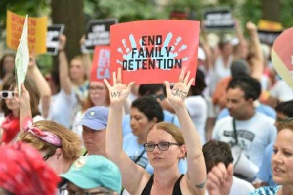 الادارة الاميركية تسعى الى تمديد مهلة قضائية للم شمل عائلات المهاجرين