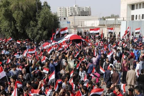 احتجاجات غاضبة في البصرة
