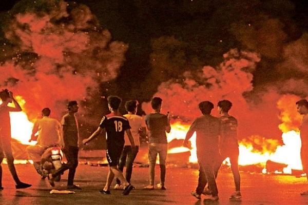 تجدد احتجاجات البصرة... اشتباكات واعتصامات واعتقالات