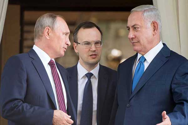 اللقاء الثالث خلال عام يوم الأربعاء بين بوتين ونتانياهو