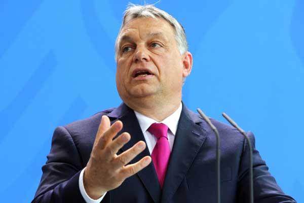 رئيس الوزراء المجري فيكتور اوربان