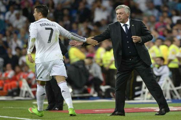 مدرب ريال مدريد كارلو أنشيلوتي