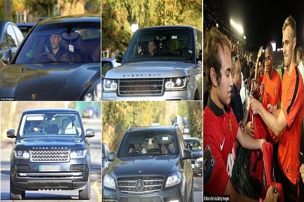 فان غال يحرم نجوم مانشستر يونايتد من سياراتهم الفارهة