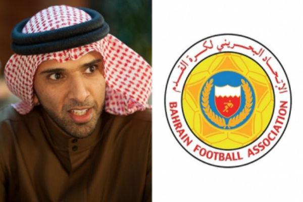 رئيس الاتحاد البحريني الشيخ علي بن خليفة ال خليفة