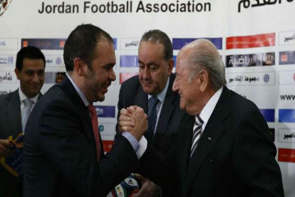 الأمير علي بن الحسين يتحدى بلاتر ويترشح لانتخابات رئاسة الفيفا