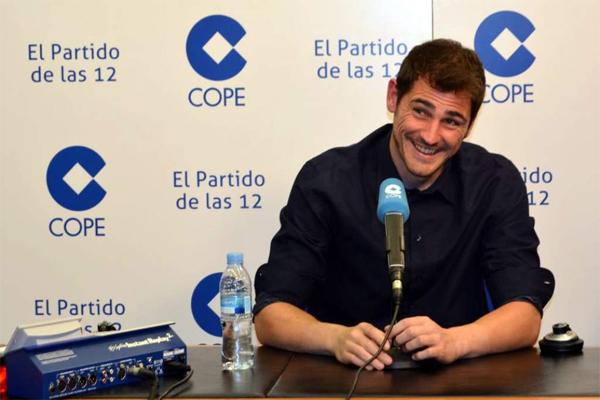 الحارس الإسباني ايكر كاسياس حارس ريال مدريد الإسباني