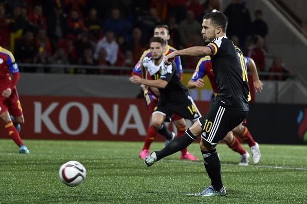 بلجيكا إلى نهائيات كأس أوروبا 2016
