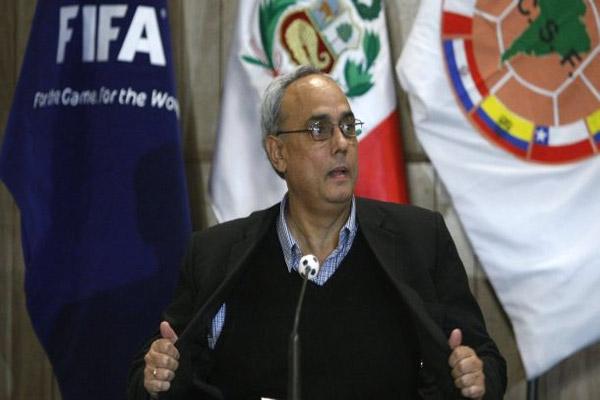 الرئيس السابق للاتحاد البيروفي لكرة القدم مانويل بورجا