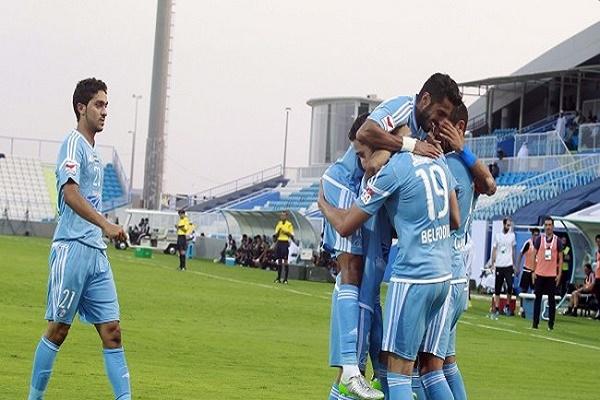 بني ياس يتصدر الدوري الإماراتي مؤقتاً
