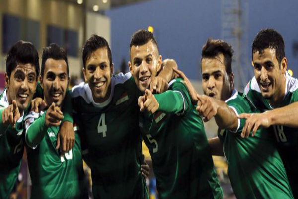 لاعبو المنتخب العراق الأولمبي