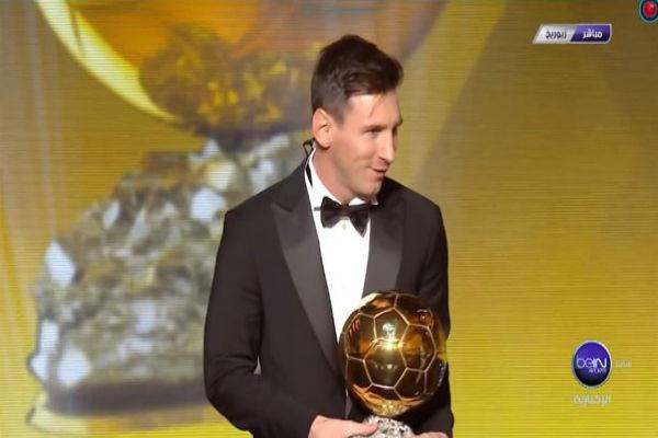 الكرة الذهبية الخامسة للنجم الأرجنتيني ليونيل ميسي