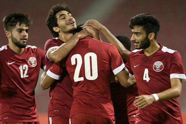 فوز قطر على الصين