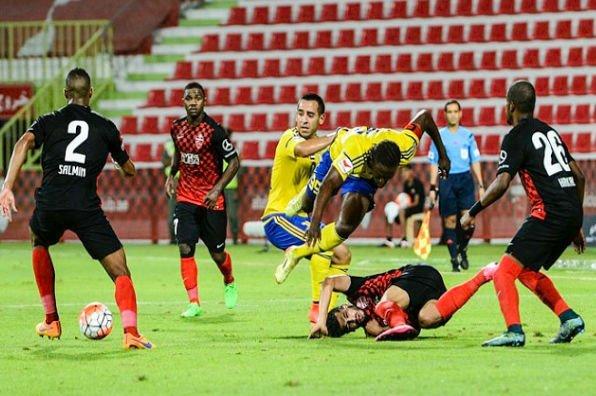 مباراة سابقة للأهلي في كأس الرابطة الإماراتية هذا الموسم