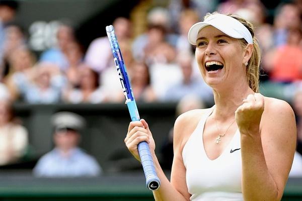 لاعبة كرة المضرب الروسية ماريا شارابوفا
