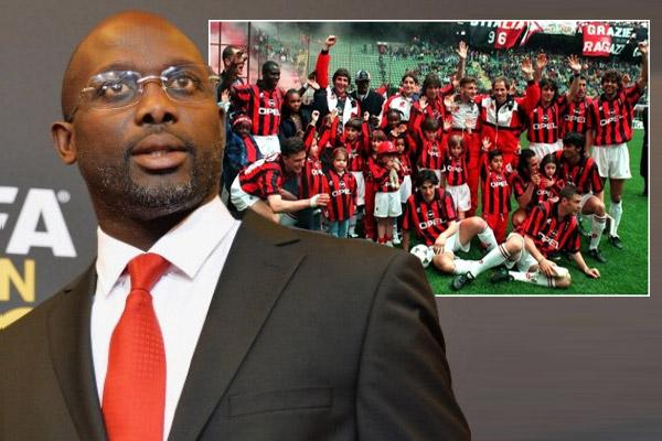 يرى جورج وياه أنّ الفريق الذي لعب ضمنه في نادي ميلان الإيطالي هو أقوى فريق رأه طوال حياته