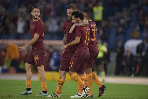 محمد صلاح يسجل في فوز روما على باليرمو