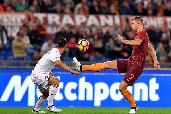 من مباراة روما وباليرمو