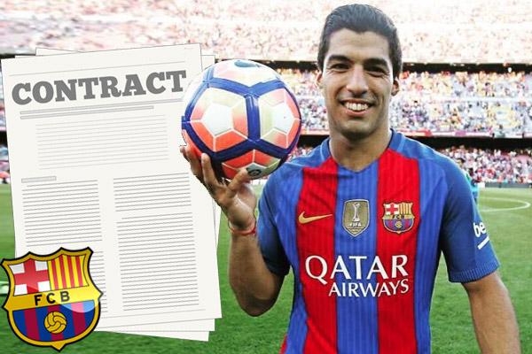 سواريز يقترب من تجديد عقده مع النادي
