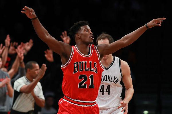 فوز شيكاغو بولز على بروكلين نتس