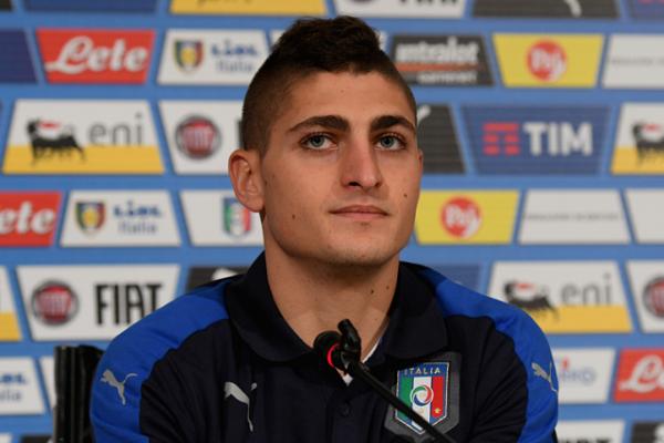 الإيطالي ماركو فيراتي، متوسط ميدان نادي باريس سان جيرمان