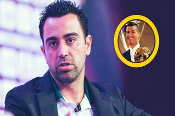 تشافي: كريستيانو لم يستحق الكرة الذهبية.. وميسي الأفضل