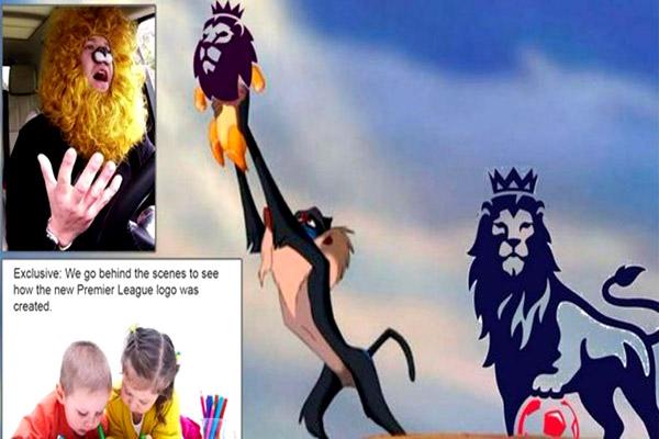 رواد مواقع التواصل الاجتماعي سخروا من شعار الدوري الانكليزي الجديد