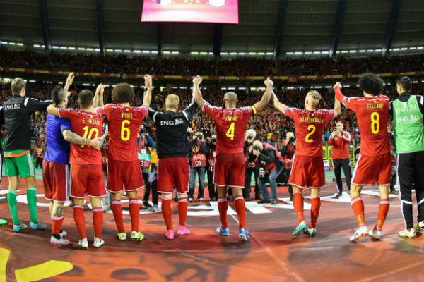 لاعبو منتخب بلجيكا