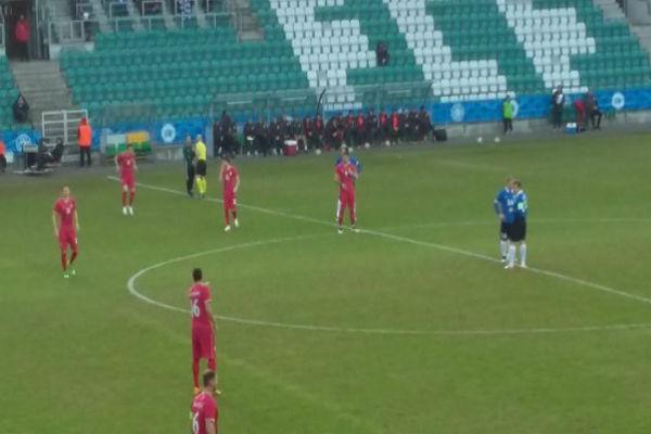 من مباراة إستونيا وصربيا
