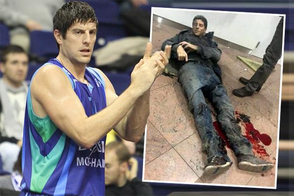 نجم كرة السلة البلجيكية أحد مصابي تفجيرات بروكسل