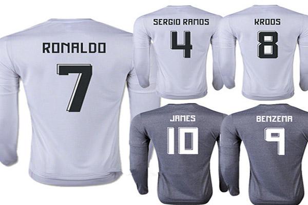 أكثر قمصان ريال مدريد رواجا ومبيعا