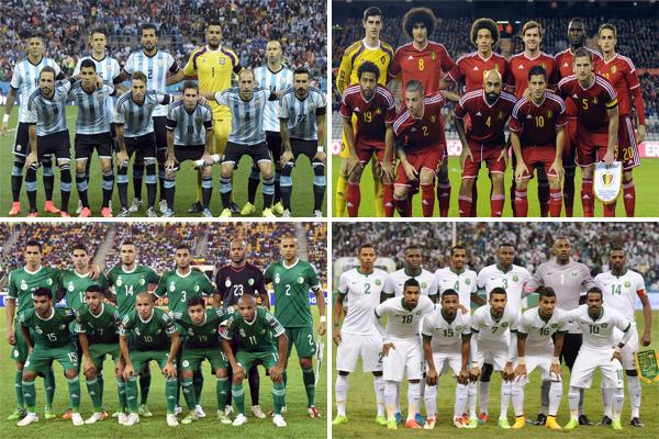 الأرجنتين تنتزع صدارة التصنيف الدولي من بلجيكا