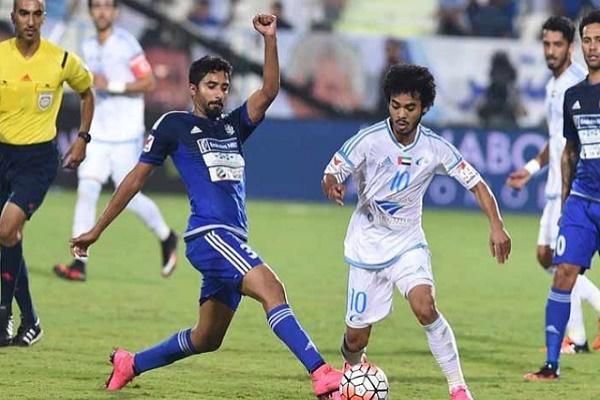 النصر إلى المركز الثالث مؤقتاً في الدوري الإماراتي