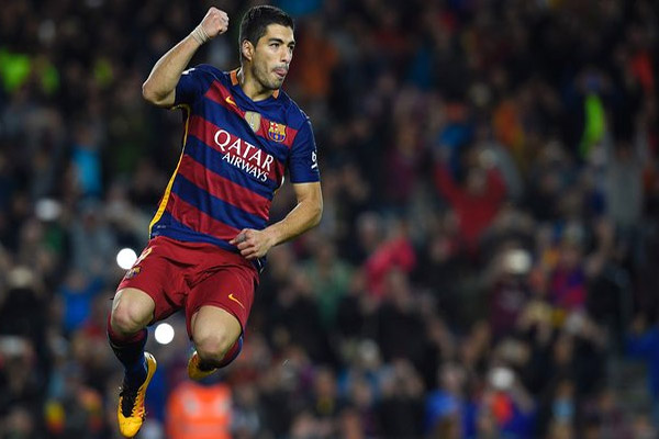 سواريز أول لاعب يسجل 8 أهداف في مباراتين متتاليتين بتاريخ الليغا