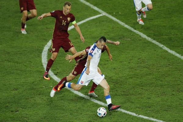 هامسيك أحرز هدفاً جميلاً في شباك روسيا