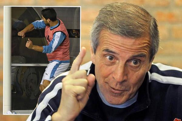 تاباريز يدافع عن قرار عدم إشراك سواريز