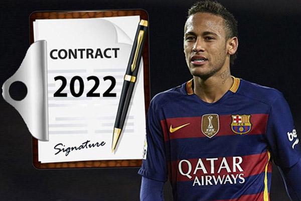 نيمار يُنهي الجدل ويقرر التوقيع على عقد جديد حتى عام 2022