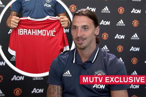 إبراهيموفيتش يكشف سبب اختياره الانضمام لمانشستر يونايتد