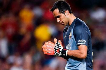 مستقبل برافو مع برشلونة يزداد غموضاً.. قد يرحل لفالنسيا!