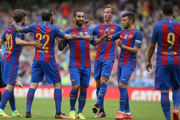 مكاسب بالجملة لبرشلونة بعد الفوز الودي على سلتيك