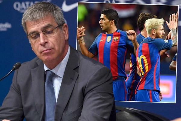 أثار غياب لاعبي فريق برشلونة الإسباني عن جائزة أفضل لاعب أوروبي غضب واستياء النادي الكاتالوني.