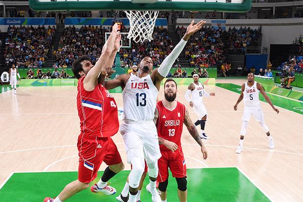 المنتخب الأمريكي يحقق فوزا صعبا على نظيره الصربي 94-91