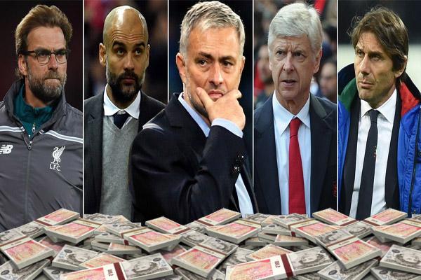 قائمة ترتيب المدربين الأعلى أجرًا في العالم