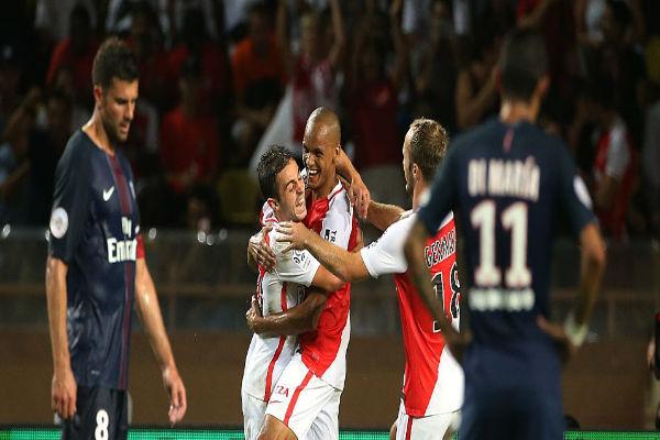 موناكو أسقط سان جرمان في الجولة السابقة